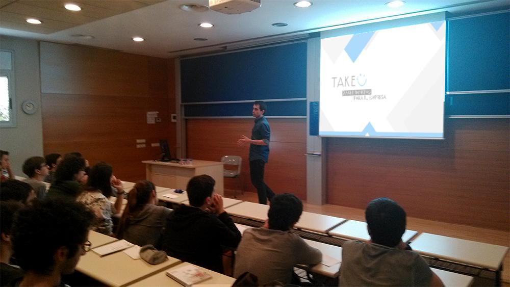 Sesión en Bojos per les Matemàtiques con Joaquim Berenguer