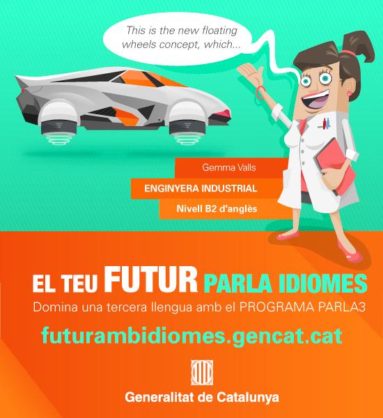 "Campaña de display ""El teu futur parla idiomes"" del programa PARLA3"
