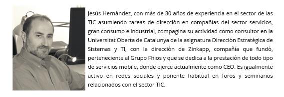 Jesús Hernández, CEO de Zinkapp