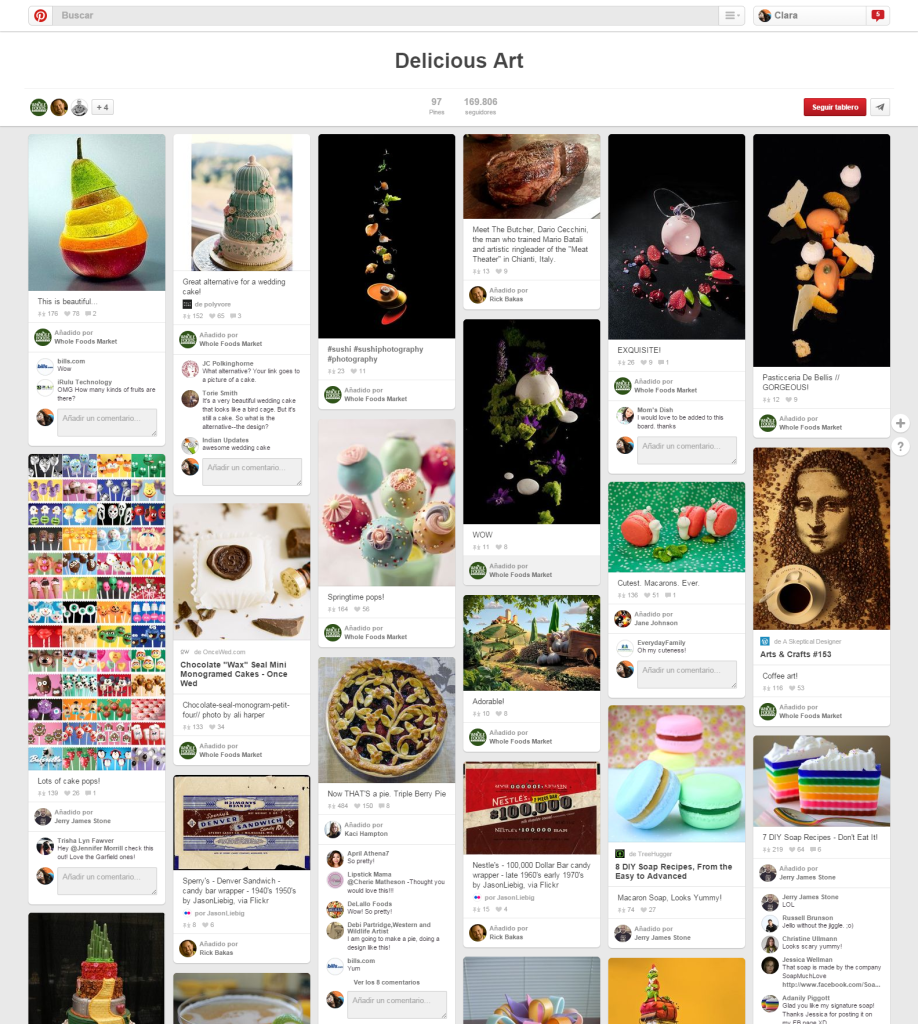 Delicious Art Pinterest The Whole Foods