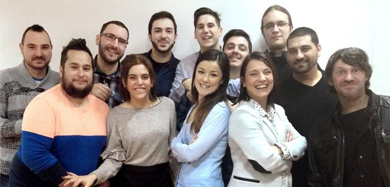 El equipo del CAU de FHIOS