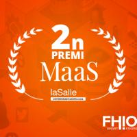 FHIOS i l'Hospital de Sant Pau col·laboren en el projecte guanyador del II premi MaaS de la Salle-URL