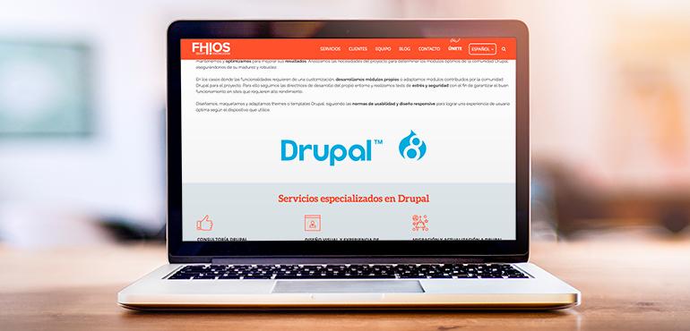 Servicios migración Drupal 8